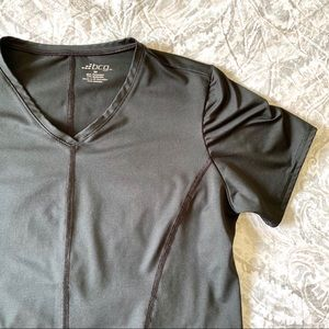 BCG Short Sleeve Athletic Top Black Medium